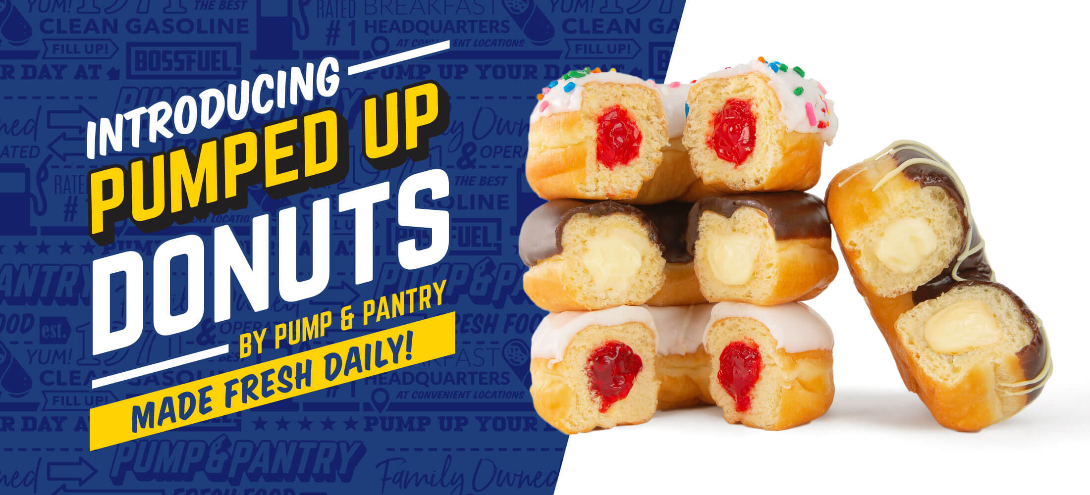 Pumped Up Donuts!